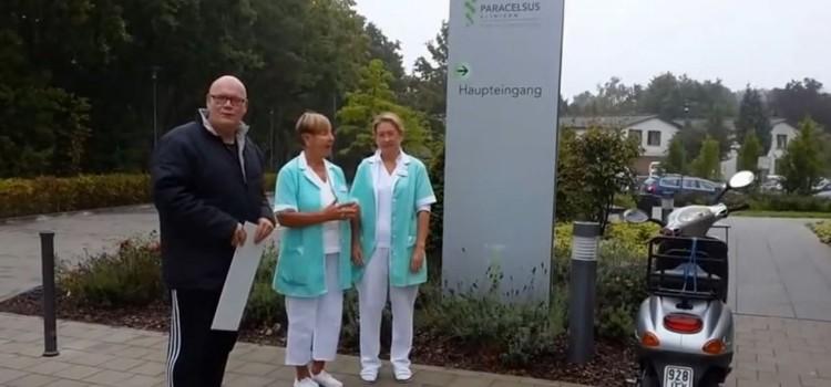 Spendenübergabe an die Grünen Damen